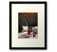 Saturdays with dad,a glimpse of a great man. Framed Print