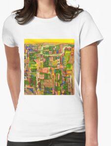 Riverside jewel Womens Fitted T-Shirt