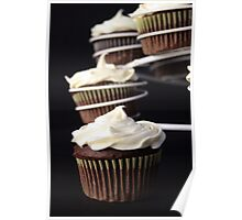 Cake in a row Poster