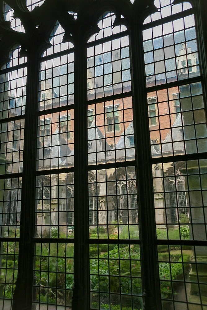 Cloister gardens by Morag Anderson