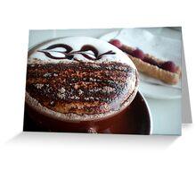 Cappuccino Girl Greeting Card