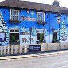 Hawkenbury Pub at Christmas by Bogus