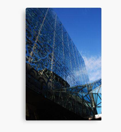 Building Blues Canvas Print