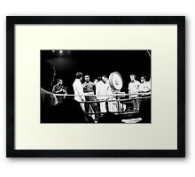 Thrilla in Manila. Continuation of Frazier Interview. Framed Print