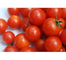 red tomatoes Photographic Print