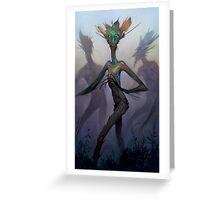 Twisted Wisp Eaters Greeting Card