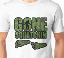 Gone Squatchin woodland  Unisex T-Shirt