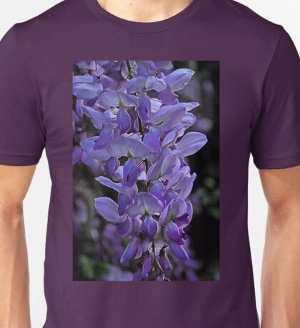 Painted Wisteria Unisex T-Shirt