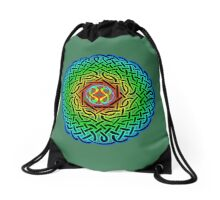 Celtic Artemus Knot Drawstring Bag
