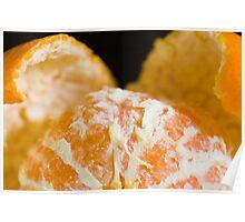 peeled orange Poster