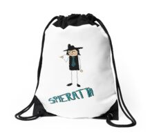 This is Spieratta (The Bossman) Drawstring Bag
