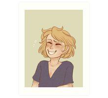 Haircut! Art Print