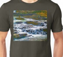 Terraced Falls (Rocky Mountains) Unisex T-Shirt