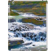 Terraced Falls (Rocky Mountains) iPad Case/Skin