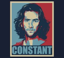 Desmond Hume from Lost - Shepard Fairy Poster Style