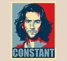 Desmond Hume from Lost - Shepard Fairy Poster Style Unisex T-Shirt