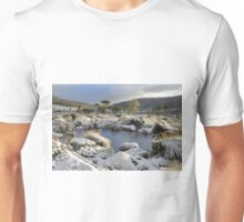 Snow at Mt Field Unisex T-Shirt