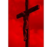 Father Forgive Them Photographic Print
