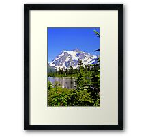 """""""Spring In The Cascades"""" Framed Print"""