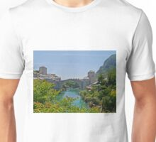 Old Bridge, Mostar, Bosnia Herzegovina Unisex T-Shirt