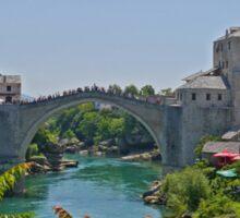 Old Bridge, Mostar, Bosnia Herzegovina Sticker