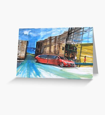 Stretch Limo Greeting Card