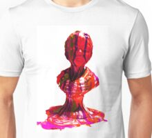 Overflown Emotions Red Unisex T-Shirt