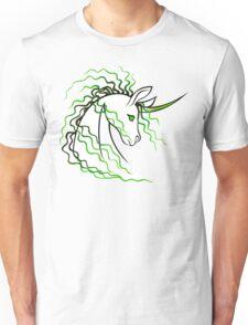 Ki-Rin (Japanese Unicorn) - Green Unisex T-Shirt