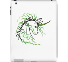 Ki-Rin (Japanese Unicorn) - Green iPad Case/Skin
