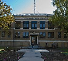 Blaine County Montana Court House by Bryan D. Spellman