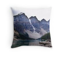 Evening at Moraine Lake Throw Pillow