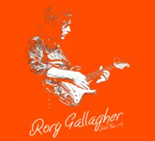 Rory Gallagher Irish tour 74 Kids Clothes