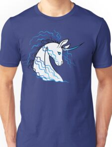 Ki-Rin (Japanese Unicorn) - Blue Unisex T-Shirt