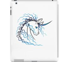 Ki-Rin (Japanese Unicorn) - Blue iPad Case/Skin