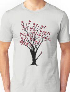 The Awake Cherry Tree in bloom Unisex T-Shirt