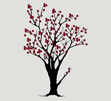 The Awake Cherry Tree in bloom Womens Fitted T-Shirt