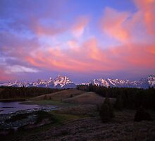Teton Range by Mike Norton