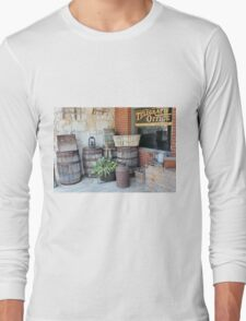 Rustic Store Front Long Sleeve T-Shirt