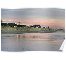 The Bright Lights of Otaki Beach Poster