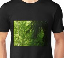 Sunglow in the Forest Unisex T-Shirt