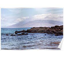 The Endless Beauty of Maui, Hawaii Poster