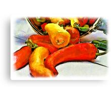 Pepper Harvest Canvas Print