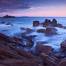 Mount Maunganui sunset by Paul Mercer