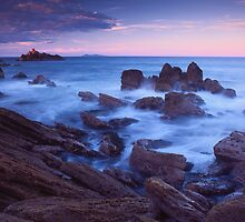 Mount Maunganui sunset by Paul Mercer
