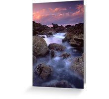 Mount Maunganui Sunset 2 Greeting Card