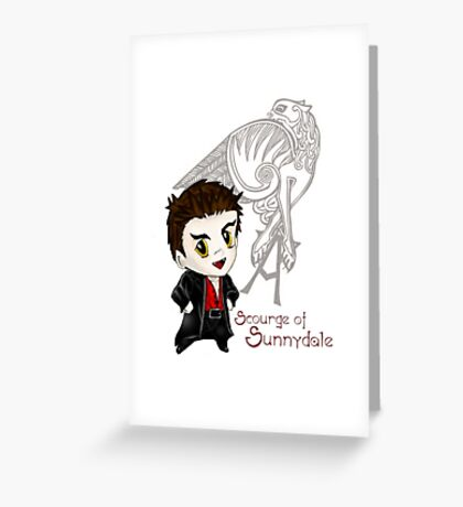Scourge of Sunnydale Greeting Card