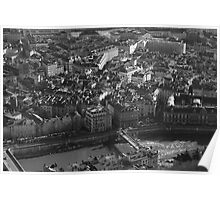 Grenoble  from the top Poster