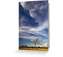 Teebus Cloudscape Greeting Card
