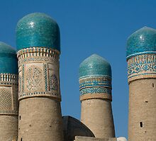 Four minarets at Bukhara by Speedy