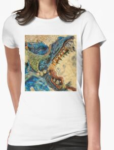 ©DA Dragon IAGP M. Womens Fitted T-Shirt